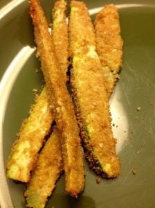 Zucchini %22Mozzarella%22 Sticks, míos